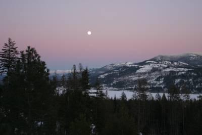 moon rise Jan. 21, 07